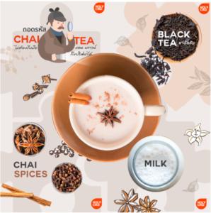ถอดรหัสชา chai tea